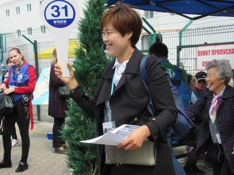 3 тысячи корейцев прибыли из Сокчо, а потом отправятся в японский город Муроран