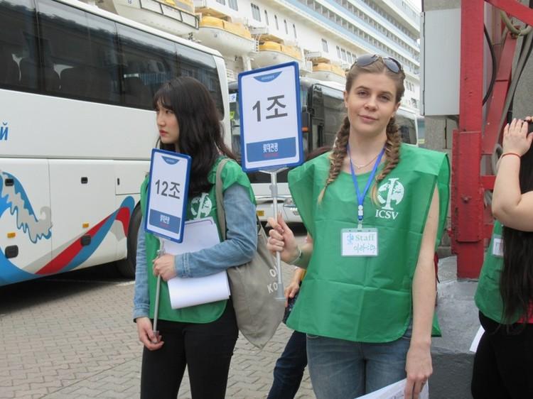Студентка-кореевед Ирина второй год помогает экскурсоводам