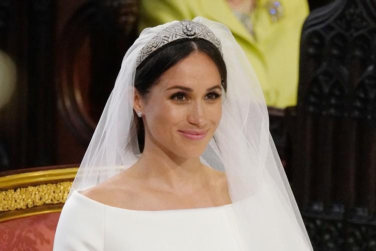 С лица невесты не сходила счастливая улыбка