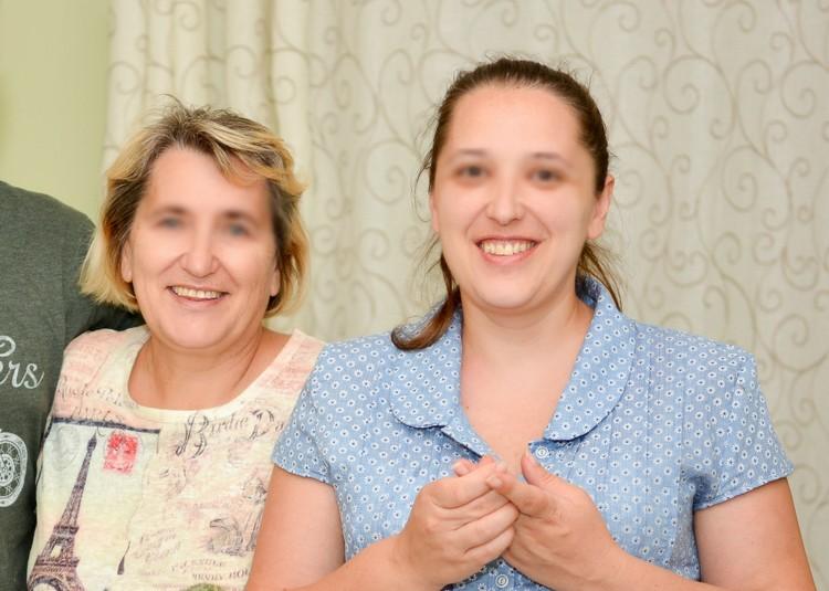 Людмила Михайловна и Оксана. Фото - из личного архива родных