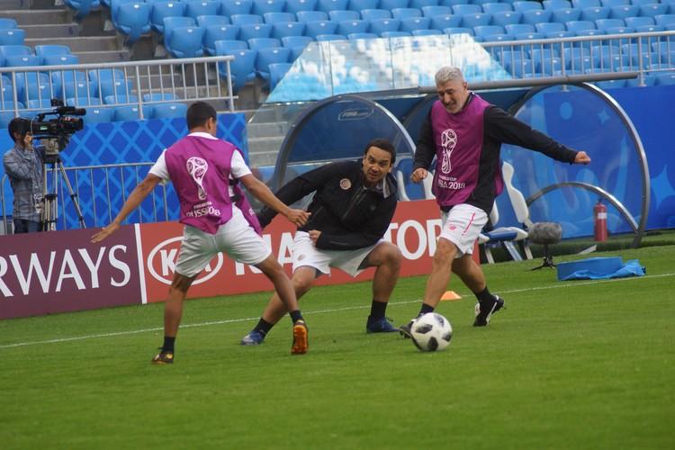 Футболисты готовы потрепать нервы соперникам из Сербии