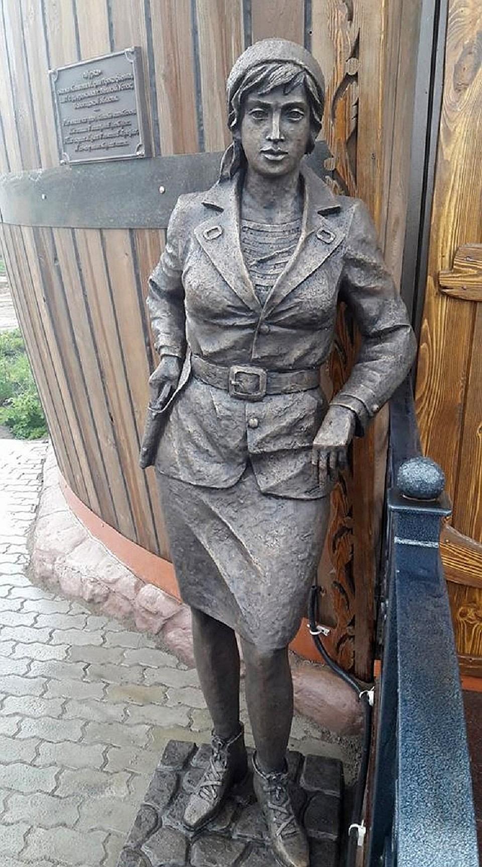 Так выглядит памятник в Великом Устюге. Фото: facebook.com/viktor.chuchin