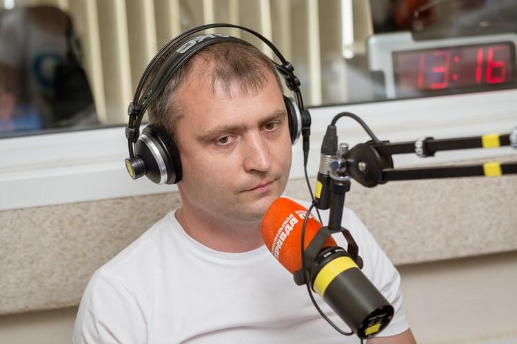 """Дмитрий Григорчик - основатель группы """"Парковый""""."""