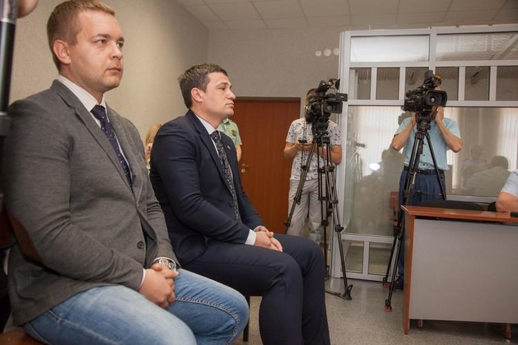 Сергей Ванкевич (слева) и Александр Телепнев своей вины не признают