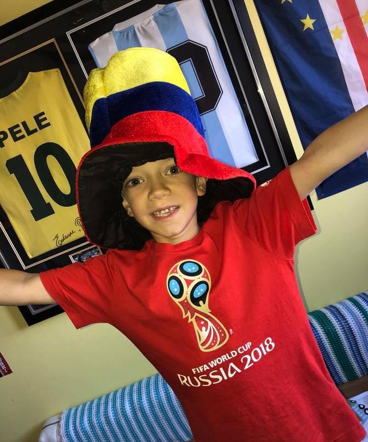 Алекс очень благодарен колумбийским болельщикам