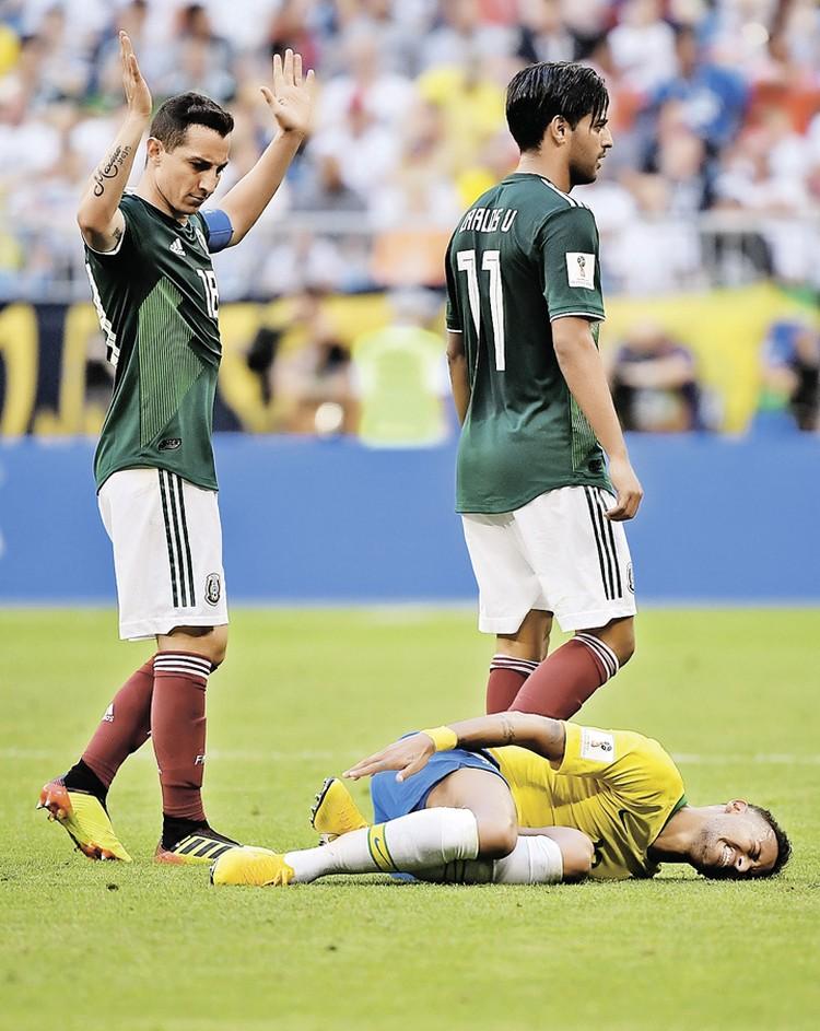 «У Неймара самый низкий болевой порог среди игроков на чемпионатах мира со времен изобретения статистики», - презрительно написал легенда английского футбола Гарри Линекер.