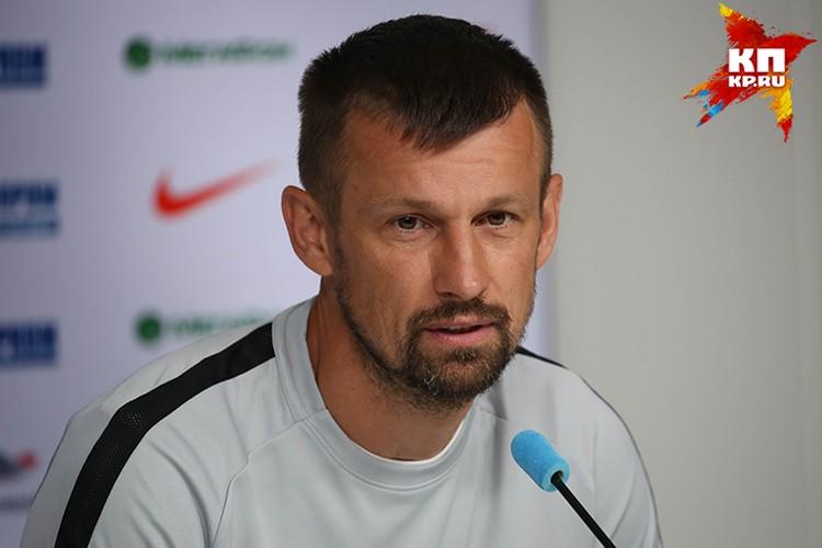 Главный тренер «Зенита» Сергей Семак.