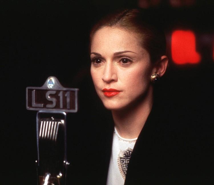 Самая известная роль Мадонны, наверное, «Эвита», за которую она даже получила премию «Золотой глобус»
