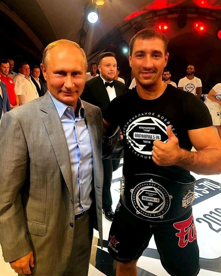 Владимир Путин отдал должное бойцу из Ростова-на-Дону. Фото: Instagram