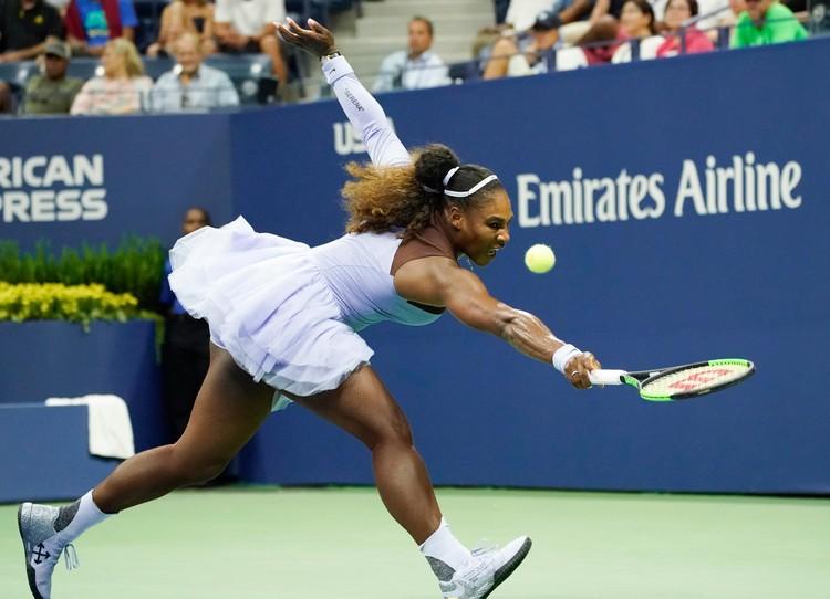 Американская теннисистка вернулась в этом году в большой спорт.
