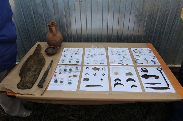До 1 ноября археологи наверняка обнаружат и другие артефакты