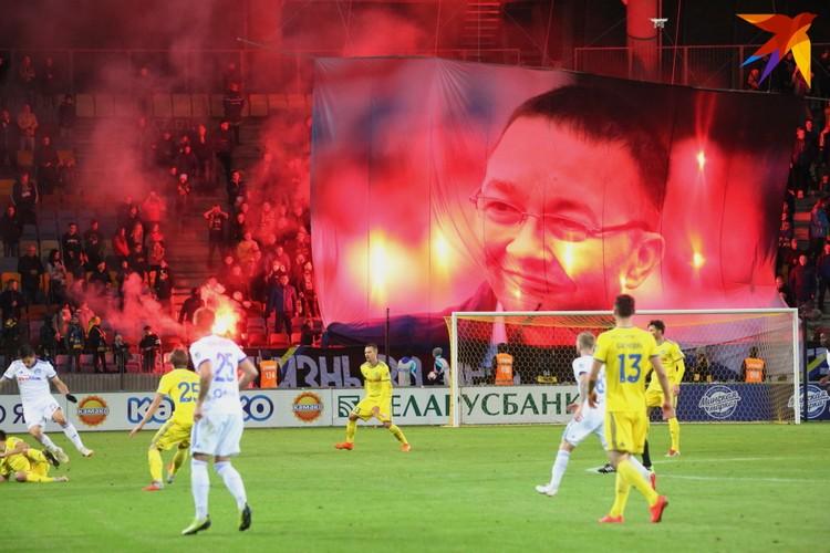 Баннер-портрет в память Анатолия Капского.