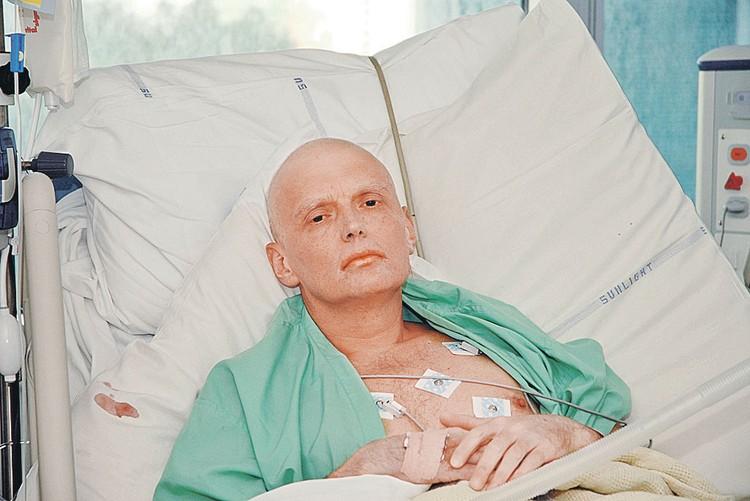 Александр Литвиненко после полония скончался, но якобы успел обвинить в покушении Андрея Лугового. Фото: PA Images/ТАСС