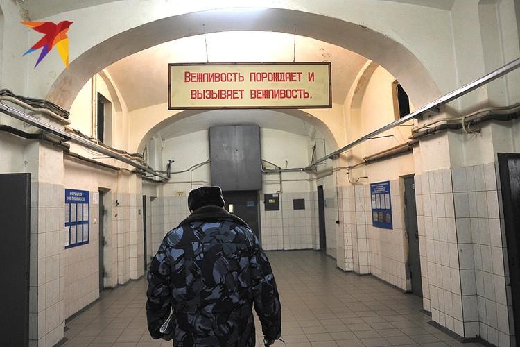 Тюремный коридор следственного изолятора №2 `Бутырская тюрьма`.