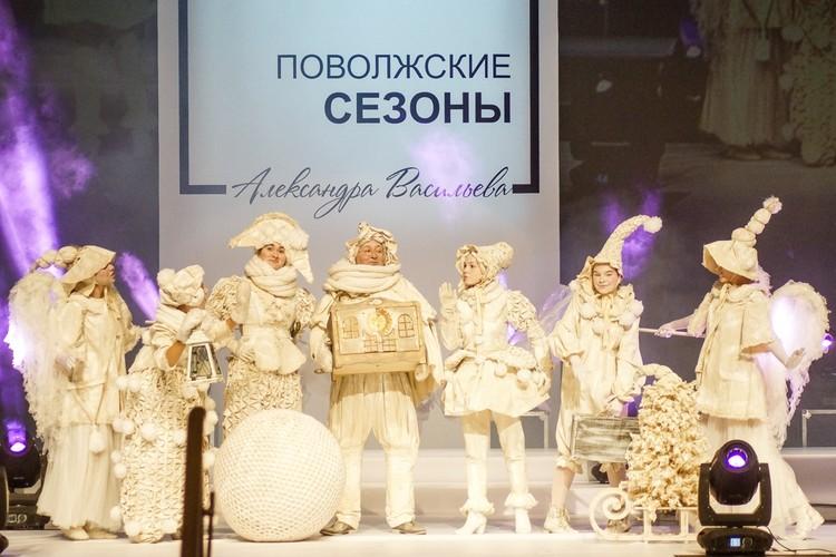 """""""Вязаное Рождество"""" - гран-при в категории """"Театральные костюмы"""""""