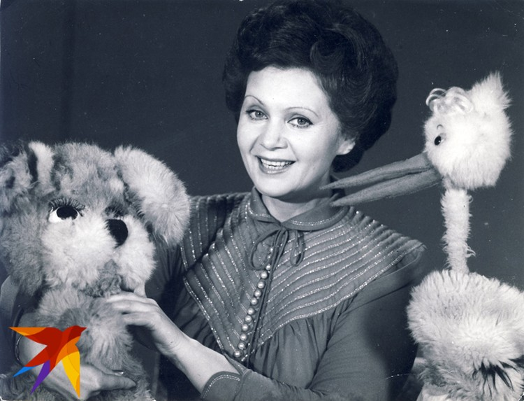 ...И доброй тетей Зиной в «Калыханцы». Фото: Личный архив