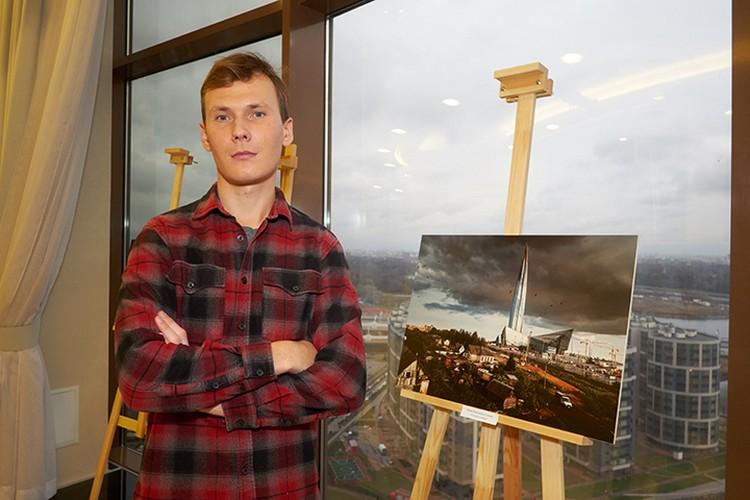 Победитель конкурса Иван Смелов.