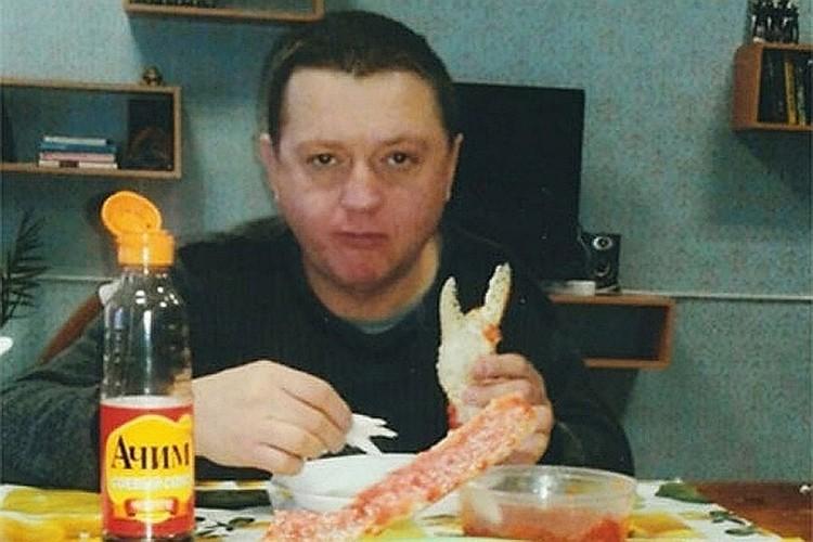 Вячеслав Цеповяз в колонии с крабами