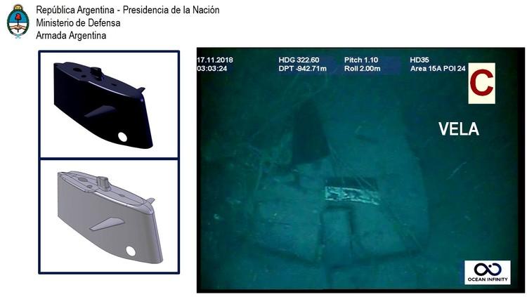 «Сан-Хуан» исчезла 15 ноября 2017 года. Фото: ВМС Аргентины