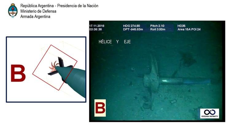 На борту подлодки находились 44 человека. Фото: ВМС Аргентины