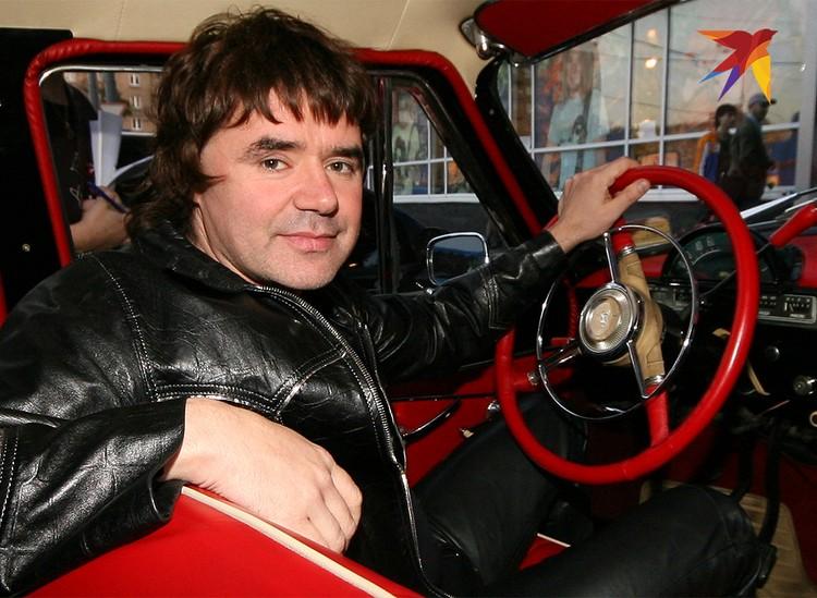 Музыкант Евгений Осин в 2006 году.
