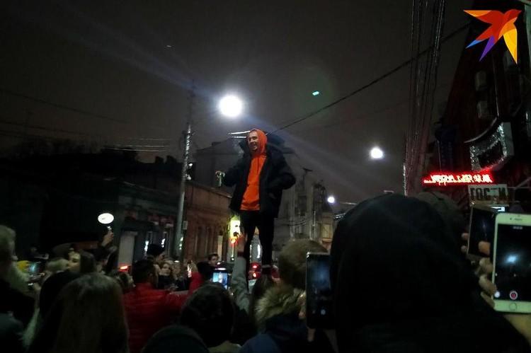 Выступление рэпера Хаски в Краснодаре длилось недолго