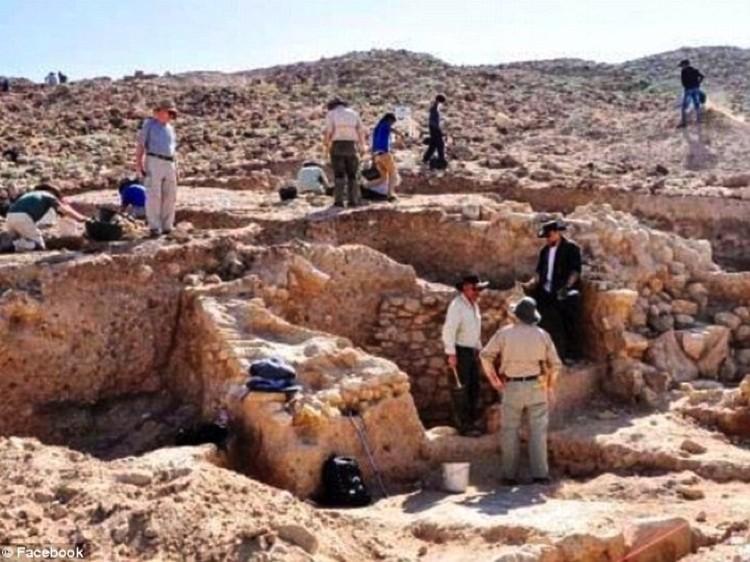 Руины Содома
