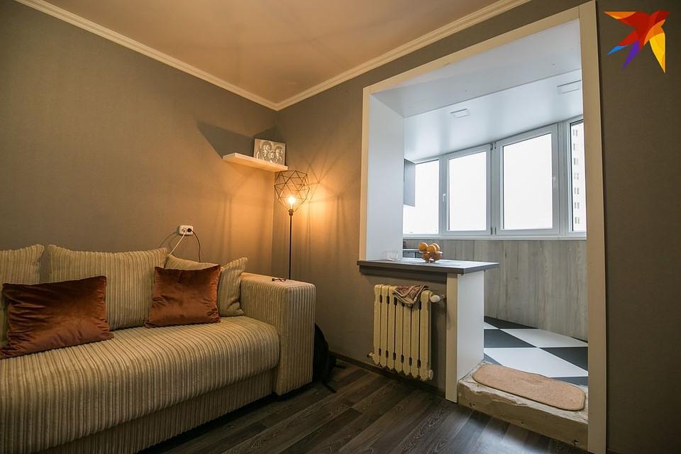 однокомнатные квартиры дизайн фото с балконом выбор этого