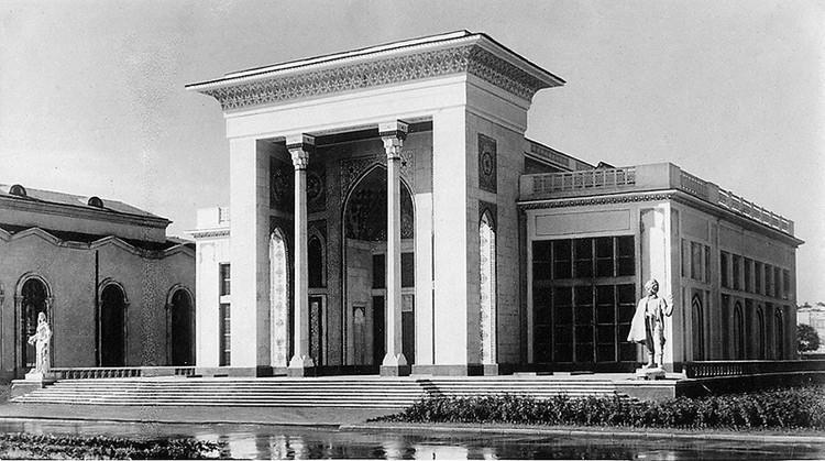 Павильон «Азербайджан» был построен в 1939 году
