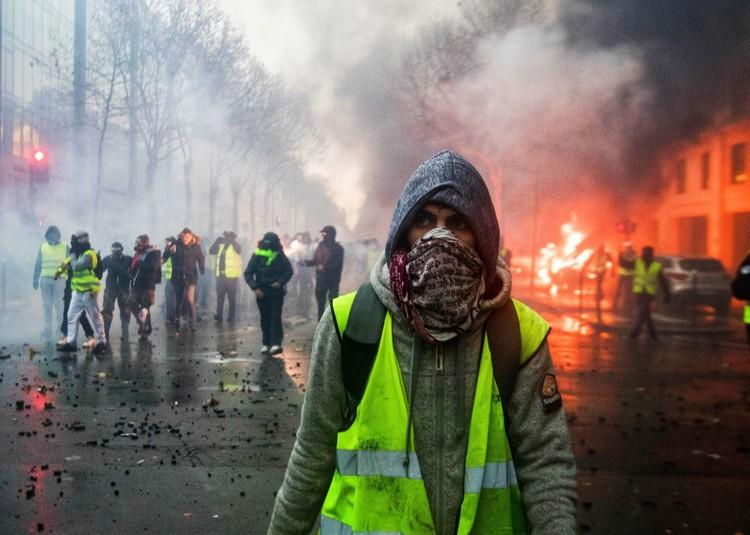 Лицо французского протеста.