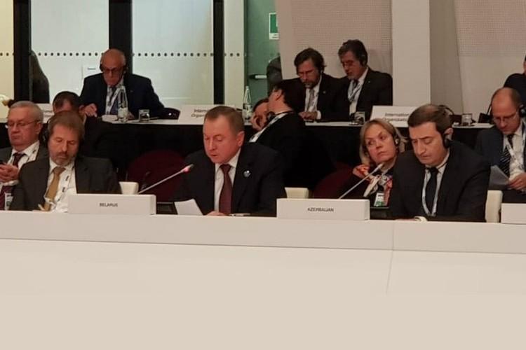 Владимир Макей выступил на 25 заседании Совмина иностранных дел ОБСЕ. Фото: МИД.