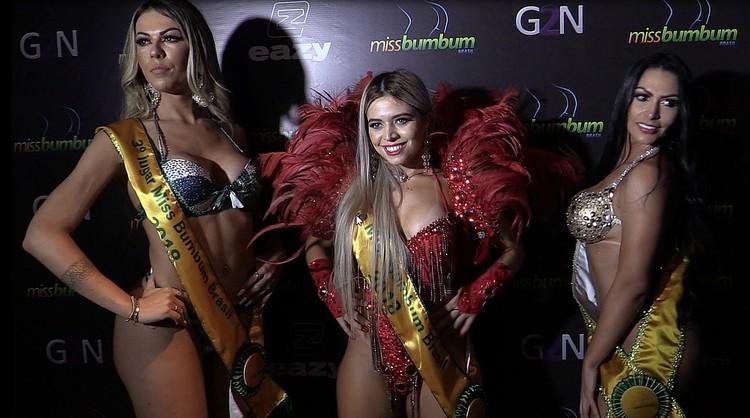 Тройка победительниц «Мисс Бум-бум – 2018»