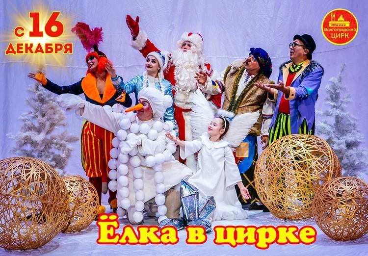В цирке - новогодняя программа. Фото: госцирк