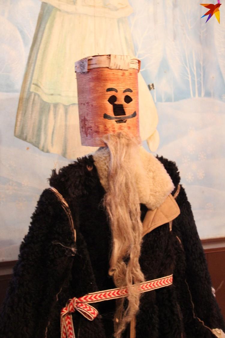 А порой для образа Деда делали такого плана маску. Фото: Татьяна КУХАРОНАК