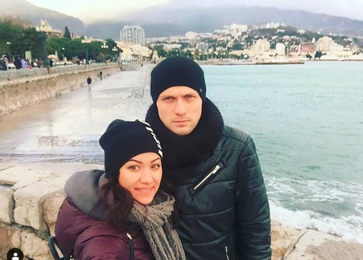 Герой Кирилл со своей девушкой Александрой/Фото: Инстаграм Александры Лезиной.