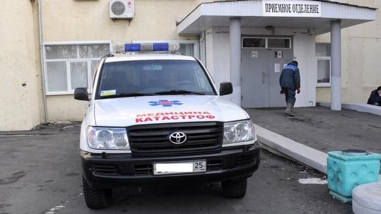 В Большой Камень приехали специалисты «Территориального центра медицины катастроф». Фото: предоставлено коллегами пациентки