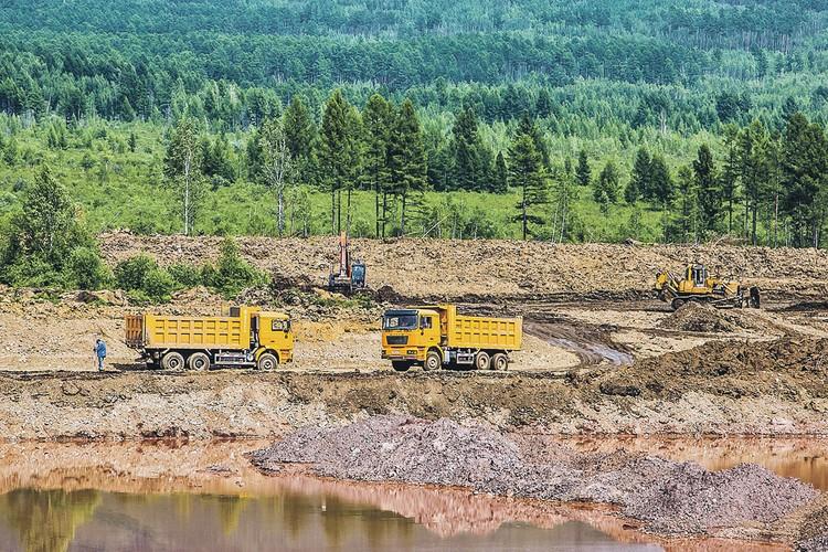 Разведанные запасы на Итакинском золоторудном месторождении составляют более 62 тонн. Фото: Андрей КИРОВ