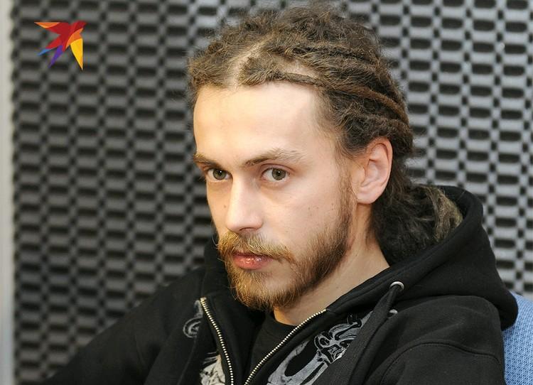 "Рэпер в редакции ""Комсомолки"", 2010 год."