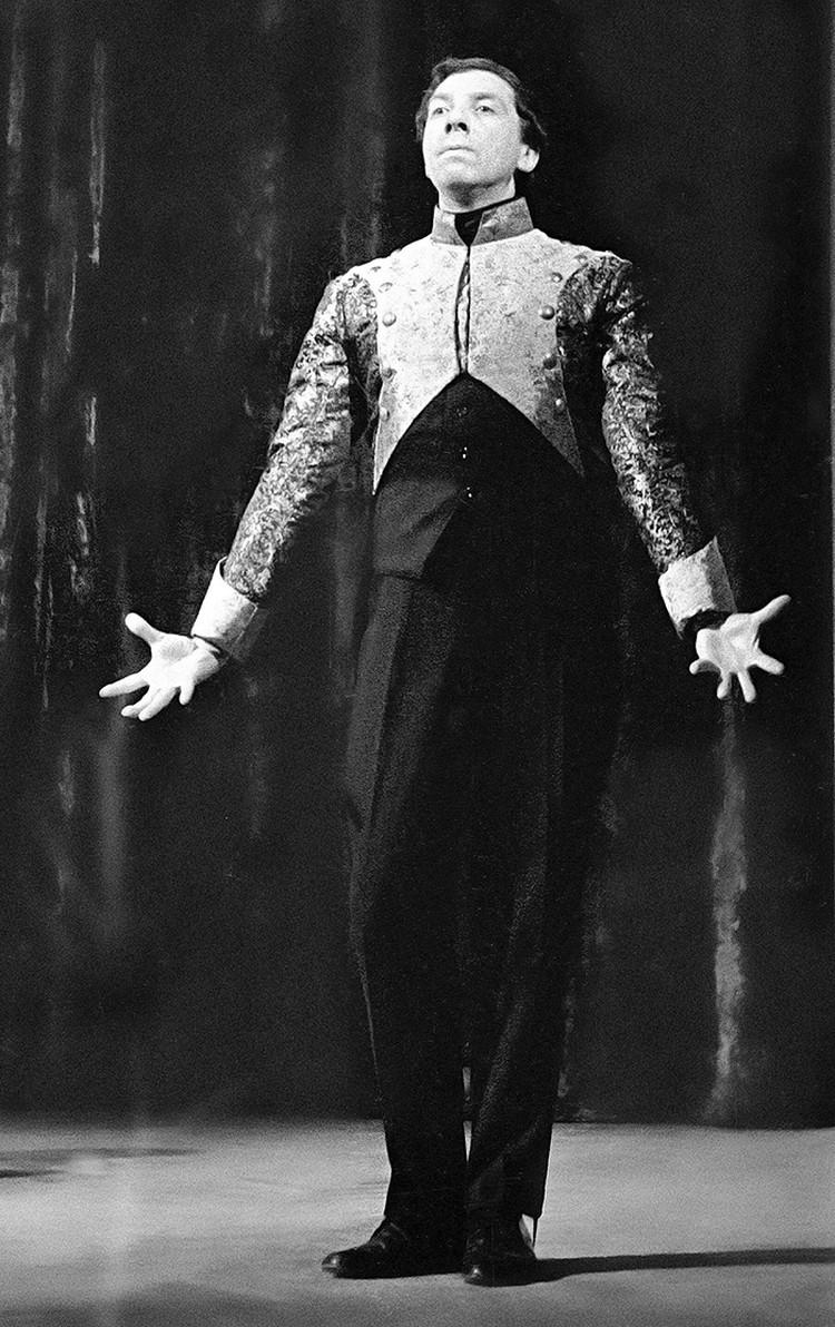 Сергей Юрский – стопроцентно человек театра
