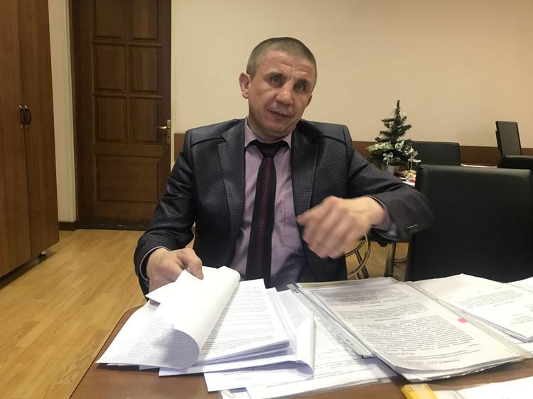 Глава бюджетного комитета Верховного совета Хакасии Олег Иванов.