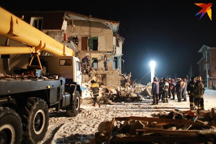 Спасатели установили дополнительное освещение