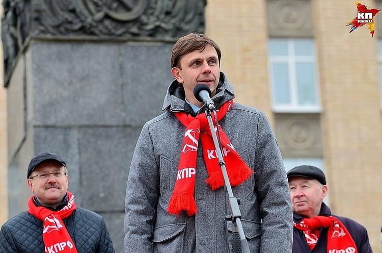 Губернатор Андрей Клычков