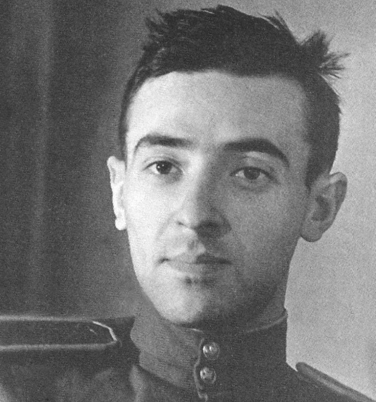 Актер Владимир Этуш в годы войны. Фото предоставлено Щукинским театральным училищем