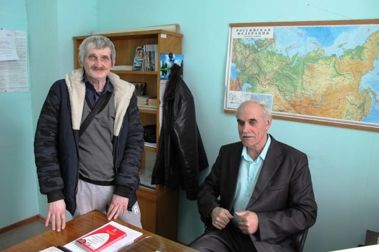 Игорь Мотыгин и адвокат Николай Кузьменко.