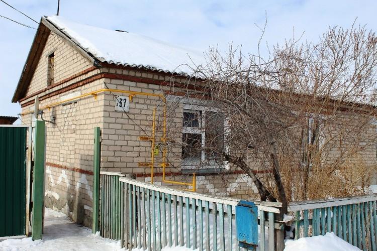 Дом семьи Мотыгиных.
