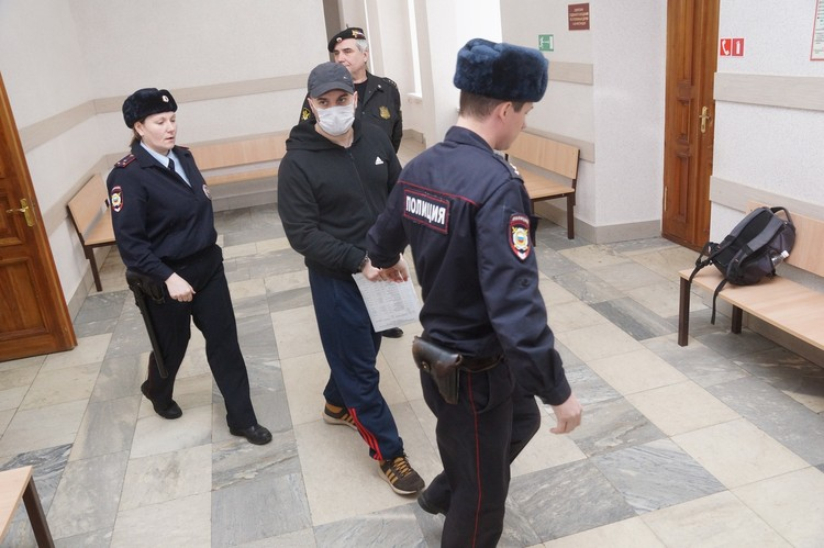 Виктора Самсонов на следствии признал свою вину