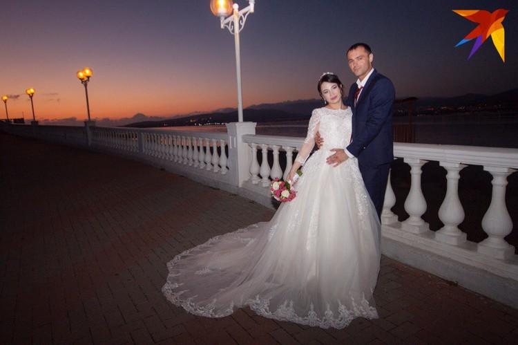 Свадьбу сыграли красивую