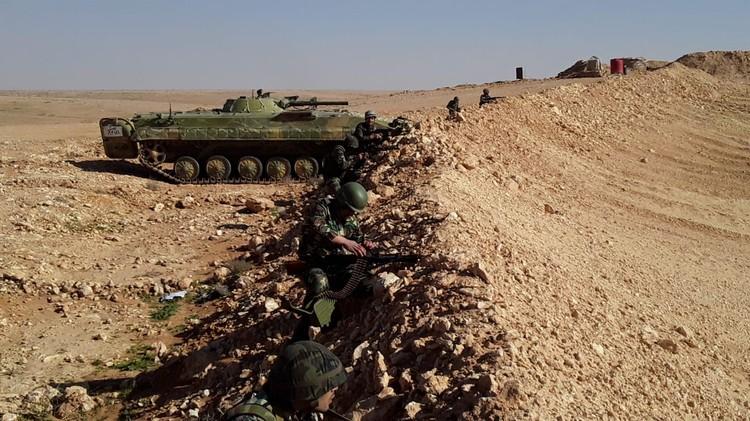 Учения Вооруженных сил Сирии