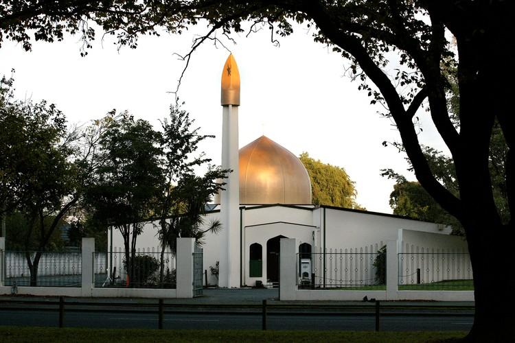 Мечеть города Крайстчерч, Новая Зеландия.