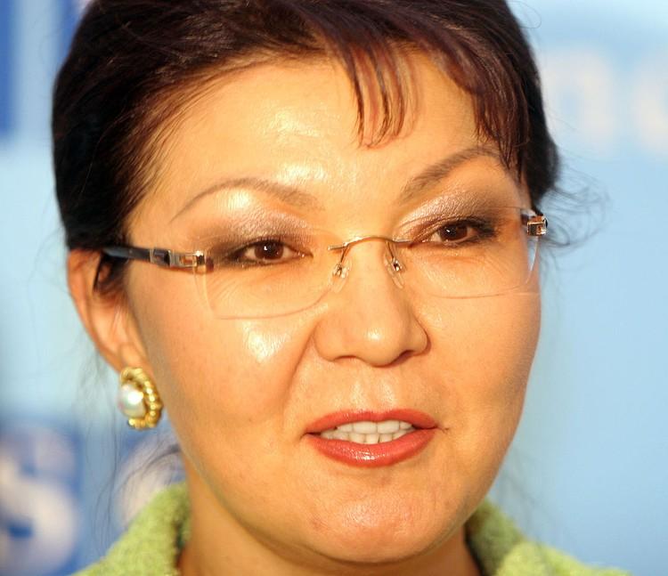 Старшая дочь бывшего президента Казахстана Дарига.